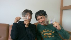 橋本タクヤとミーティング。