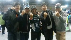 韓国の友人たちと。
