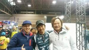 韓国のパクさん(右)。